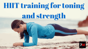 HIIT training for toning and strength | 7Min