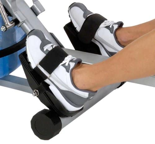 Rowing Machine Review - h2o fitness feet view